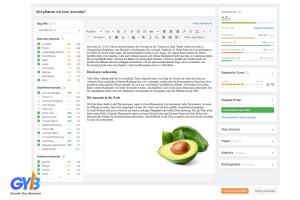 SearchMetrics Content Experience - Kiểm tra bài viết chuẩn SEO
