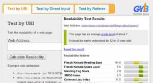 WebFX Readability Kiểm tra bài viết chuẩn SEO