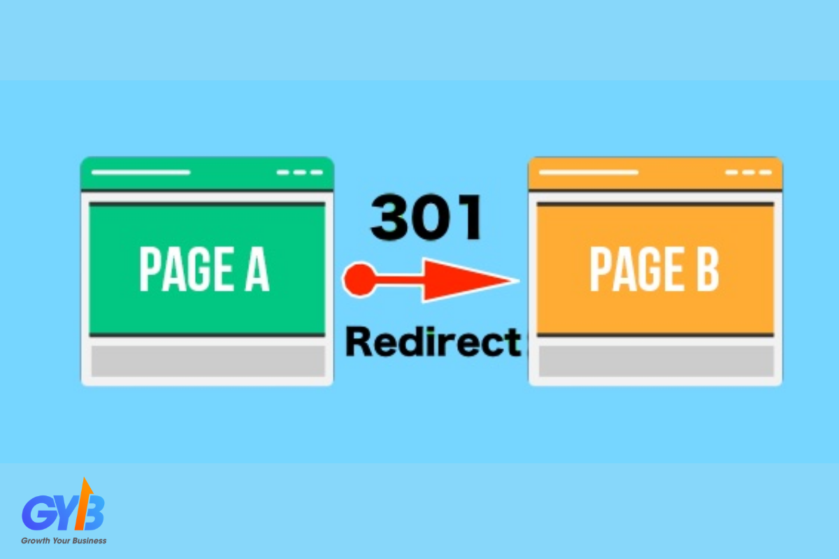 Khái niệm redirect 301